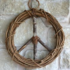 Peace-Wreath-vine-peace-sign-hanging-door-all-year-round-season-3.JPG #fairtuesday give the gift of peace