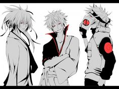 Nura, Gintoki and Kakashi
