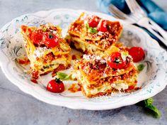 Triple-Cheese-Lasagne mit Spitzkohl Rezept   LECKER