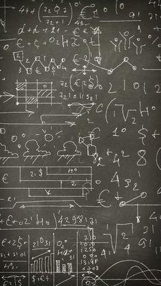 black . Einstein's blackboard