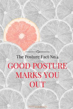 The Posture Fact No.4 A Good Posture Marks You Out. Excessive time spent sitting is not joyful for your back and your upper body. Our generation's posture suffers from day-to-day working at computer desks or just reading in bed before going to sleep.  Read all posture improvement tips at fitvize.com