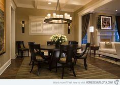 15 Eye-Catching Black Pedestal Dining Room Tables