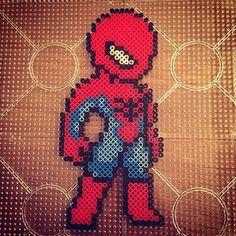 Spiderman perler beads by   jawsan