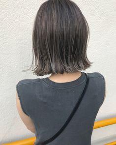 Medium Short Hair, Short Hair Cuts, Medium Hair Styles, Short Hair Styles, Hair Inspo, Hair Inspiration, Ash Hair, Hair Arrange, Short Hair