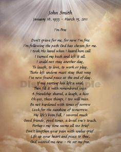 Angel Poems Death Loved Ones - Bing Images | Angels ...