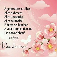 Happy Weekend, Happy Sunday, Portuguese Quotes, Peace Love And Understanding, Special Words, Sweetest Day, Osho, Spanish Quotes, Family Love
