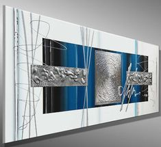 Red Abstract Art, Modern Art Paintings, Beginner Painting, Fused Glass Art, Art Moderne, Blue Art, Texture Art, Acrylic Art, Geometric Art