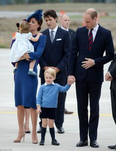 The Cambridges in Canada