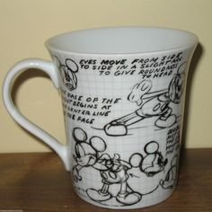 Mickey Mouse Sketch Coffee Mug Black & White Drawings Cartoon Imagination Disney Coffee Mugs, Disney Mugs, Disney Gift, Mickey Mouse Sketch, Disney Mickey Mouse, Black And White Drawing, Black White, Most Popular Cartoons, Cool Mugs