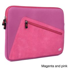 KroO 13.3-Inch Blue Hybird Tablet and Laptop Sleeve