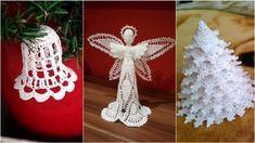 Christmas Decorations, Christmas Ornaments, Holiday Decor, Xmas, Crochet, Free, Milan, Christmas Jewelry, Christmas