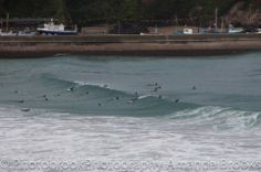 Surfing the storm in Cornwall