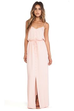 Nina Dress by Paige Denim in Ballet Pink $229