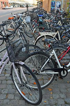 The first thing that is noticed when visiting Copenhagen is the number of bicycles, they are everywhere. Currently 55% of the citizens in central Copenhagen ride a bicycle daily and the number is 37% for Greater Copenhagen. Buying a new car currently triggers a 180 percent tax.