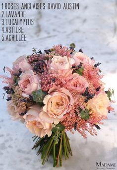 Bouque te de mariee rose- L amariee aux pieds nus