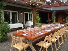 Wine Dinners at Le Puy - 40th Birthday party