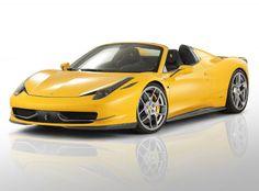 Novitec Rosso acicala el Ferrari 458 Spider  Retoques estéticos y mejoras mecánicas para el espectacular descapotable de Maranello