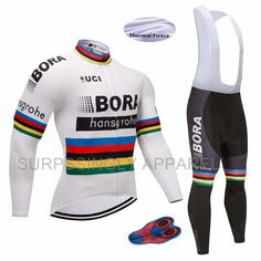 2017 Winter Thermal Fleece Men s Cycling Jersey Set  Mountain Bike Uniform Long  Sleeve Cycling Clothing MTB Bicycle Jersey Set. Yesterday s price  US   39.63 ... 294454f37