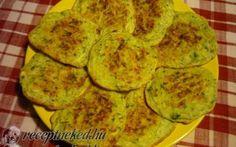 Feta sajtos cukkini lepénykék recept fotóval Feta, Zucchini, Vegetables, Recipes, Tips, Vegetable Recipes, Ripped Recipes, Cooking Recipes