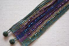 Beaded Bracelets by the Huicholes of Mexico