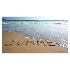 Summer ❤ liked on Polyvore featuring backgrounds, beach, text, phrase, quotes and saying
