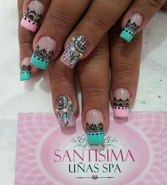 Tattoo Drawings, Tattoos, Luxury Girl, Nail Art Designs, Nails, Beauty, Pixar, Henna, Outfits