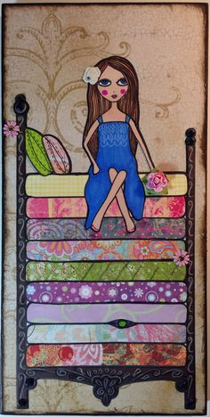 The Princess & The Pea Art by Mayra Arroyo