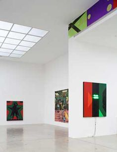 Kerry James Marshall, Black Star 2. School of Beauty, Black Owned, Robert Johnson Frieze, Secession, 2012.