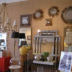 hb home silver and white lighting and accessories | interior