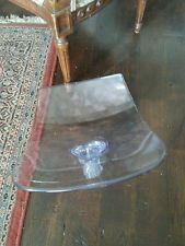 lucite italian ice Chair seat Knoll Tulip Eames Mid Century...
