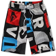 SOUTEAM Brand Beach Shorts For Men Summer Swimming / Surfing ...