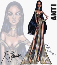 Rihanna #ANTI collection by Hayden Williams: Look 5