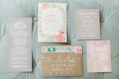 #calligraphy Photography by landmhewitt.com  Read more - http://www.stylemepretty.com/2013/08/09/baltimore-wedding-from-l-hewitt-photography/