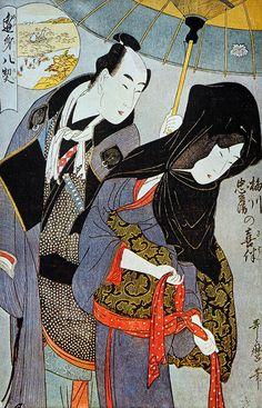 Lovers Utamaro
