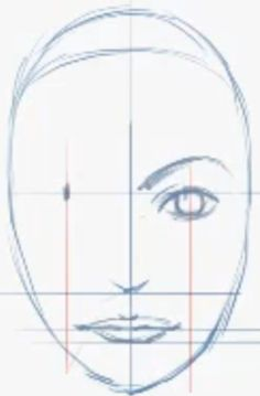 Step 06 how to draw female face How to Draw Female Faces in Correct Proportions with Easy Drawing Lesson