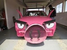 Mustang that looks like a pig.