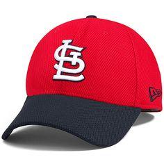 e5aaef737a6 St. Louis Cardinals 2Tone Diamond Era 39THIRTY Stretch Fit Cap by New Era -  MLB