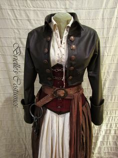 Handmade Unique: Uniquely Renaissance : Handmade Garb for . Pirate Garb, Pirate Cosplay, Pirate Costumes, Female Pirate Costume, Pirate Outfits, Pirate Clothes, Pirate Jacket, Larp Costumes, Mermaid Costumes