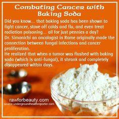 Cancer baking soda cure
