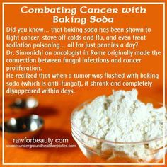 Cancer baking soda cure