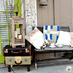 rustic lantern easy and affordable with 2x4s, pallet, woodworking projects