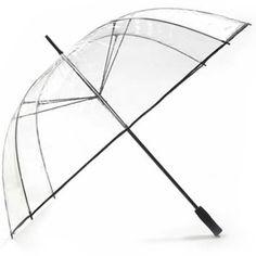 Clear PVC See Through Golf Umbrella