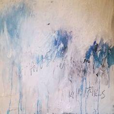 "Saatchi Art Artist Naomi Middelmann; Painting, ""barely"" #art"