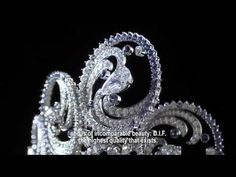 The making of the Ocean Tiara by Van Cleef and Arpels. It was commissioned by Prince Albert as a wedding gift for his wife, Princess Charlene.