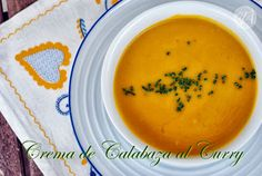Cabagge soup with curry, the perfect entrée for Thanksgiving dinner!