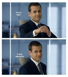 I don't watch Suits, but Gabriel Macht is so handsome! Serie Suits, Suits Tv Series, Harvey Specter Suits, Suits Harvey, Suits Show, Suits Tv Shows, Suits Quotes, Tv Quotes, Movie Quotes