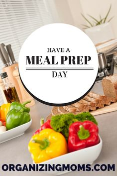 Learn how having a meal prep day can help you simplify meal prep during the week.