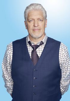 """""""I am constantly amazed on every level at how lucky I am."""" --Clancy Brown"""