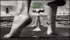 """""""Ignoramos nuestra verdadera estatura hasta que nos ponemos de pie.La Maby..."""