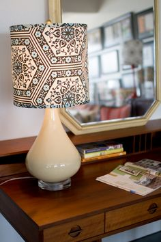 DIY: how to make a lampshade. On design*sponge.
